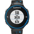 Garmin™ Forerunner® 620 GPS Watch With HRM-Run, Black/Blue
