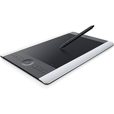 WACOM® PTH651SE Intuos Special Edition Pro Pen and Touch Tablet, Silver/Black