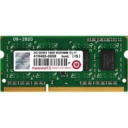 Transcend® JetRAM 2GB DDR3 (204 Pin SO-DIMM) DDR3 1600 (PC3-12800) Memory Module