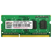 Transcend® 1GB DDR3 (204 Pin SO-DIMM) DDR3-1333 (PC3-10600) Memory Module