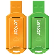 Lexar™ JumpDrive V20 8GB USB Small Blister USB Flash Drive, Assorted, 2/Pack