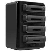 Lexar™ Professional Workflow Four-Bay USB 3.0 Card Reader Hub