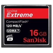 Sandisk® Extreme 16GB CompactFlash Memory Card