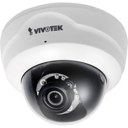 VIVOTEK FD8137HF3 Wired Fixed Dome Camera with Day/Night, White