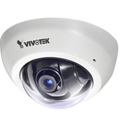 VIVOTEK FD8166-F2 2MP Indoor Fixed Dome Network Camera With 3.6 mm Lens, White