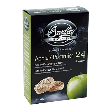 Bradley Smoker™ Smoking Bisquette, Apple, 24/Pack