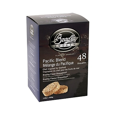 Bradley Smoker™ Smoking Bisquette, Pacific Blend, 48/Pack
