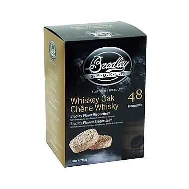 Bradley Smoker™ Smoking Bisquette, Whiskey Oak, 48/Pack