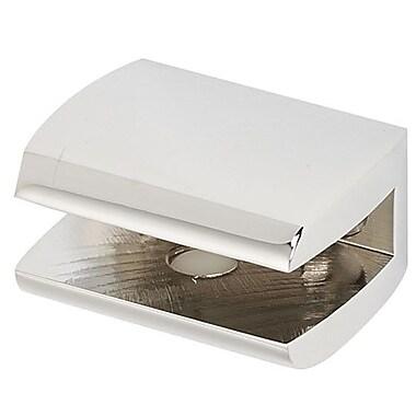 Alno Manhattan 1.75'' W Bathroom Shelf (Set of 2); Polished Chrome