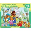 New York Puzzle Company Berenstain Bears God Bless Our Home 48-Piece Floor Puzzle