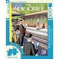 New York Puzzle Company Busy Train Route 300-Piece Puzzle