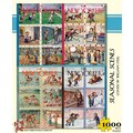 New York Puzzle Company Seasonal Scenes 100-Piece Puzzle
