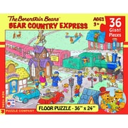 New York Puzzle Company Berenstain Bears Country Express 36-Piece Floor Puzzle