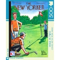 New York Puzzle Company Hole-in-Two 500-Piece Puzzle