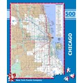 New York Puzzle Company Chicago Subway 500-Piece Puzzle