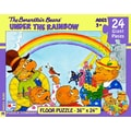 New York Puzzle Company Berenstain Bears Under the Rainbow 24-Piece Floor Puzzle