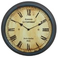 Privilege Vintage 15.5'' Wall Clock