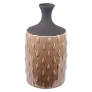 Privilege Water Drop Ceramic Vase; 15'' H x 8.5'' W x 8.5'' D