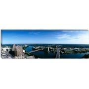 iCanvas Panoramic Austin, Texas Photographic Print on Canvas; 24'' H x 72'' W x 1.5'' D