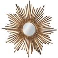 CBK Sunburst Metal Ribbon Mirror