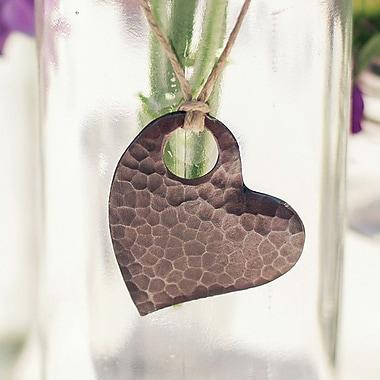 Native Trails Copper Heart Ornament 2''; 2'' H x 2'' W x 0.1'' D