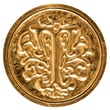 Manuscript Initial Ceramic Mini Wax Seal; T