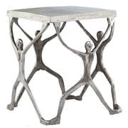 Modern Day Accents Aluminum Man Figure Accent Stool