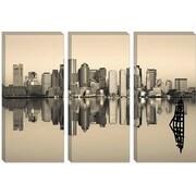iCanvas Panoramic 'Boston, Massachusetts' Photographic Print on Canvas; 18'' H x 26'' W x 1.5'' D