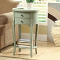 Monarch Specialties Inc. End Table; Antique Green