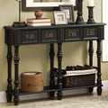 Monarch Specialties Inc. Console Table; Antique Black