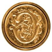 Manuscript Initial Ceramic Mini Wax Seal; G