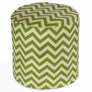 OC Fun Saks Bean Bag Cylinder Ottoman; Green