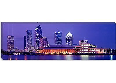 iCanvas Panoramic Building at The Waterfront, Tampa, Florida, Photographic Print on Canvas (WYF078276806904) photo