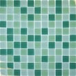 MSI 1'' x 1'' Crystallized Glass Glossy Mosaic in Green Blend