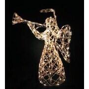 LB International Iridescent Angel Christmas Decoration