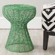 Safavieh Fox Tabitha Iron Chain Stool; Green