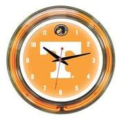 Wave 7 NCAA 14'' Team Neon Wall Clock; Tennessee