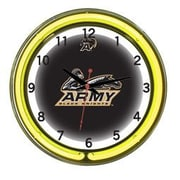 Wave 7 NCAA 18'' Team Neon Wall Clock; Army