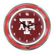Wave 7 NCAA 14'' Team Neon Wall Clock; Texas A&M