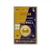 Wave 7 NCAA Cue Ball; Michigan
