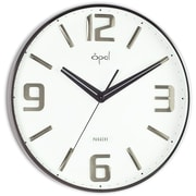 Opal Luxury Time Products 14.32'' Molded Arabic Numeral Wall Clock