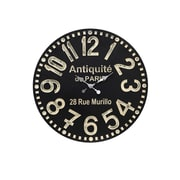 Style Craft Oversized 23.5'' Paris Wall Clock