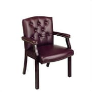 Office Star Traditional Visitors Chair with Padded Arms