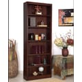 Concepts in Wood Single Wide 84'' Bookcase; Cherry