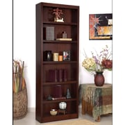 Concepts in Wood Single Wide 84'' Standard Bookcase; Cherry
