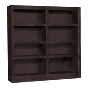 Concepts in Wood Double Wide 48'' Standard Bookcase; Espresso