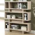 Monarch Specialties Inc. Reclaimed-Look Modern 55'' Bookcase; Natural