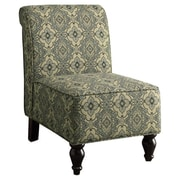 Monarch Specialties Inc. Tapestry Fabric Traditional Slipper Chair