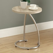 Monarch Specialties Inc. End Table; Natural