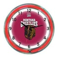 Wave 7 NCAA 18'' Team Neon Wall Clock; Montana